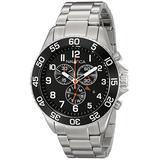 Nautica Men's NAD17509G NST 19 Analog Display Japanese Quartz Silver Watch