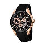 Jaguar Special Edition Mens Analog Quartz Watch with Silicone Bracelet J691/1