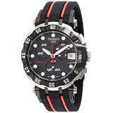 Tissot Men's T-Race T0924172720100 Black Rubber Swiss Chronograph Watch