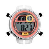 Watx&Colors m Rock Mens Digital Quartz Watch with Rubber Bracelet RWA2010