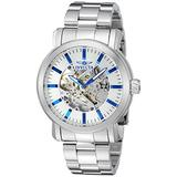 Invicta Men's 'Vintage' Automatic Stainless Steel Casual Watch, Color:Silver-Toned (Model: 22573)
