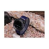 3 Ring Suunto Core 24mm Navy Blue Military Diving Watch Nylon Strap +Lugs+Adapters kit