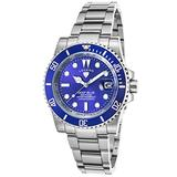 Legend 1001-33 Deep Blue Stainless Steel Blue Dial Stainless Steel Watch