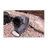 3 Ring Suunto Core 24mm Gray Navy Military Diving Watch Nylon Strap +Lugs+Adapts Kiter