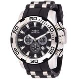 Invicta Men's Pro Diver Stainless Steel Quartz Watch with Silicone Strap, Two Tone, 26 (Model: 22311)