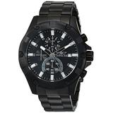 Invicta Men's Pro Diver Stainless Steel Quartz Watch with Stainless-Steel Strap, Black, 22 (Model: 22759)