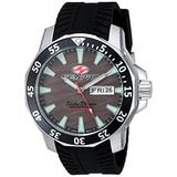 Seapro Men's Scuba Dragon Diver LTD Stainless Steel Quartz Watch with Stainless-Steel Strap, Black, 24 (Model: SP8315)