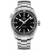 Omega Men's 232.30.42.21.01.001 Seamaster Planet Ocean Black Dial Watch by Omega