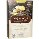 Numi Tea, Organic Ginger Pu-erh Tea, 16 Tea Bags. 1.19 oz (33.6 g) Numi Tea, Organic Ginger Pu-erh Tea, 16 Tea Bags. 1.19 oz (33.6 g) - 2pcs
