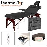 """Master 31"""" Montclair Salon Therma-Top Portable Massage Table Package"""