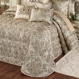 Grandeur Grande Bedspread Golden Beige, Queen, Golden Beige