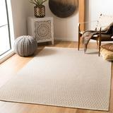 Laurel Foundry Modern Farmhouse® Jodi Geometric Handmade Flatweave Cotton Ivory/Grey Area Rug Cotton in Brown/Gray, Size 96.0 H x 60.0 W x 0.25 D in