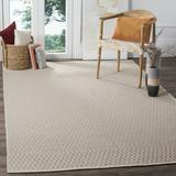 Laurel Foundry Modern Farmhouse® Jodi Geometric Handmade Flatweave Cotton Ivory/Grey Area Rug Cotton in Brown/Gray | Wayfair LRFY3573 33335211