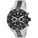Invicta Men's Pro Diver Stainless Steel Quartz Watch with Stainless-Steel Strap, Two Tone, 24 (Model: 22521)