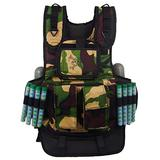 Maddog Sports Tactical Paintball Harness Vest - Camo