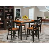5 Pc counter height Dining room set-pub Dining Table and 4 Dining Chairs.