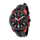 Certina DS Podium Chronograph Black Dial Aluminum Black Rubber Mens Watch C0016399705701