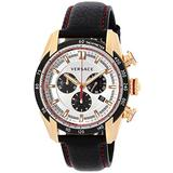 VERSACE Watch V-RAY Silver dial Chronograph VDB040014 Men's Parallel Import Goods]