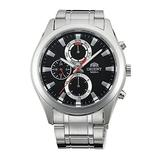 Orient Quartz Black Dial Men's Watch FUY07001B0