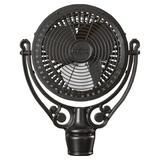 Fanimation Old Havana Series Motor Ceiling Fan Hardware Metal in Black, Size 24.0 H x 15.5 W x 24.0 D in | Wayfair FPH210BL