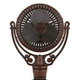 Fanimation Old Havana Series Motor Ceiling Fan Hardware Metal, Size 24.0 H x 15.5 W x 24.0 D in | Wayfair FPH210RS
