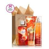 Bath & Body Works CASHMERE GLOW Fragrance Favorites Gift Kit ~ Shower Gel ~ Fragrance Mist & Body Cream