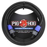 Pig Hog PHSC25SPK High Performance 14 Gauge 9.2mm speakON Speaker Cable, 25 Feet