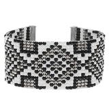 Beadaholique Gatsby Loom Bracelet - Silver - Exclusive Jewelry Kit