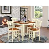 5 PC counter height Table and chair set-pub Table and 4 counter height Chairs