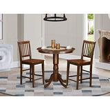 3 Pc Dining counter height set - high top Table and 2 Dining Chairs.