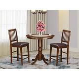 3 PC pub Table set-pub Table and 2 counter height Chairs