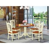 5 Pc Kitchen nook Dining set - Kitchen dinette Table and 4 Kitchen Chairs