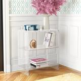Etta Avenue™ Candice Etagere Bookcase Plastic, Size 25.0 H x 22.0 W x 12.0 D in   Wayfair WLGN1004 33014873