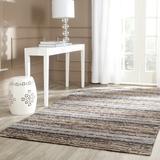 Latitude Run® Keith Handmade Wool Gray/Brown RugWool in Brown/Gray, Size 72.0 H x 48.0 W x 0.63 D in | Wayfair LATR4104 32892501