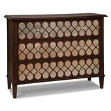 Fairfield Chair Belmont 3 Drawer Accent Chest Wood in Brown, Size 36.0 H x 48.0 W x 18.0 D in | Wayfair 8105-AC