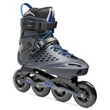 Roces 400470 Men's Model Vidi Fitness Inline Skate, US 7, Charcoal/Strong Blue