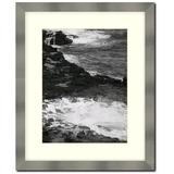 Frames By Mail Stainless Steel Wall Picture Frame in Gray, Size 12.0 H x 10.0 W x 0.75 D in | Wayfair 213A-RM-810