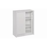 ClosetMaid Storage 2 Door Accent Cabinet Wood in Brown/Red, Size 31.5 H x 24.13 W x 11.63 D in | Wayfair 1307