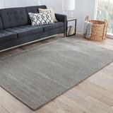 Alcott Hill® Farrwood Hand-Woven Flatweave Gray/Silver Area Rug Viscose/Wool in Brown/Gray, Size 60.0 W x 0.62 D in   Wayfair ACOT2220 34690044