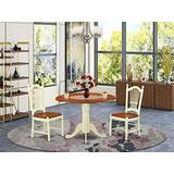 3 PC Kitchen dinette set-Kitchen dinette Table and 2 Kitchen Dining Chairs