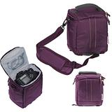 Navitech Digital SLR Camera Protective Bag Case Cover (Nikon coolpix P510/ P100/ P500/ P90/ L810/ 8800, Purple)