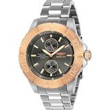 Invicta Men's Pro Diver Stainless Steel Quartz Diving Watch with Stainless-Steel Strap, Silver, 20 (Model: 23641)