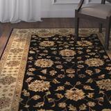 Astoria Grand Vinoy Handmade Tufted Wool Rug Wool in Brown, Size 96.0 H x 60.0 W x 0.35 D in | Wayfair ASTG6732 34863483