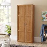 Lark Manor™ Elborough Armoire Wood in Brown, Size 71.13 H x 29.625 W x 16.13 D in   Wayfair RDBL2117 34875422