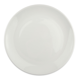 "Homer Laughlin 20086800 10 3/8"" Round Alexa Dinner Plate - China, Ameriwhite"