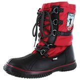 PAJAR Women's Grip Low Boot (6-6.5, Black/Red
