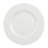 "Homer Laughlin 8746900 6 1/4"" Round Kensington Plate - China, Ameriwhite"