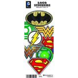 DC Comics Logo Vending Stickers