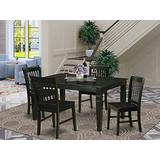 5 Pc Dining room set for 4-Kitchen Table and 4 Dining Chairs