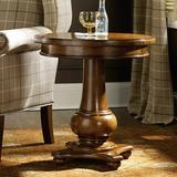 Hooker Furniture Tynecastle End Table Wood in Brown, Size 25.0 H x 24.0 W x 24.0 D in | Wayfair 5323-80116
